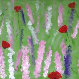 Wild Flower Meadow #2 canvas