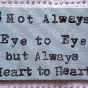 Eye to Eye Fridge Magnet - Groovy Grey